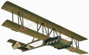 танкопланер А-40 в полёте