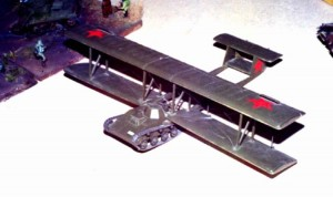 летающий танк А-40 модель-копия