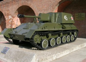 САУ СУ-76М образца 1944 года