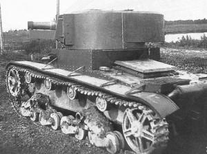 Т-26 с экспериментальной башней А-43 1933 год