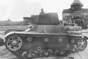танк Т-26 образца 1933 года