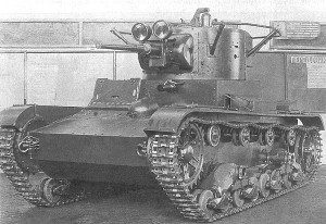 Командирский танк Т-26 1936 года выпуска