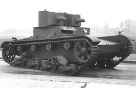 "Танк ТММ-1 с пулемётами ""гочкис"""