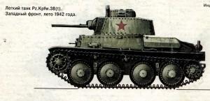 трофейный танк Т-III