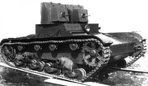 танк Т-26 образца 1931 года