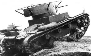 танк Т-26 образца 1934 (командирский)