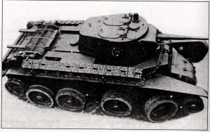 Линейный танк БТ-7М