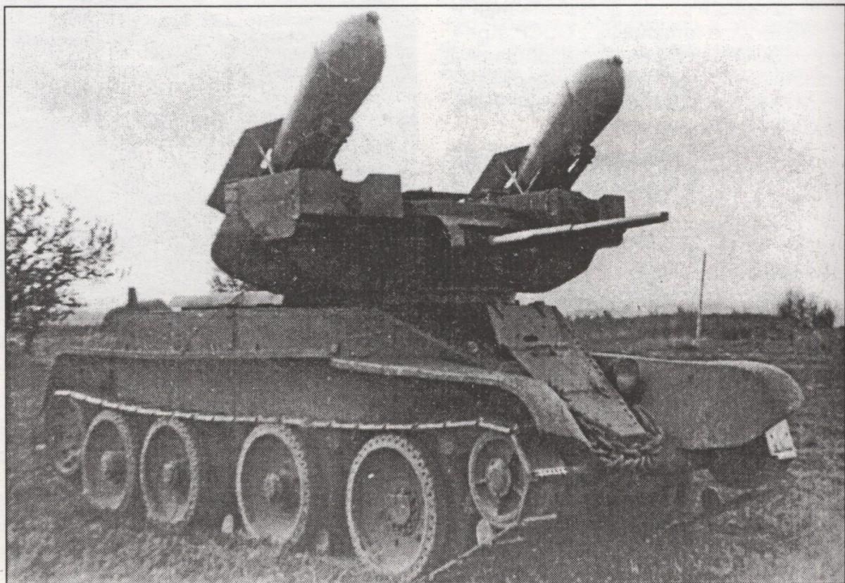 Основные модификации танка бт