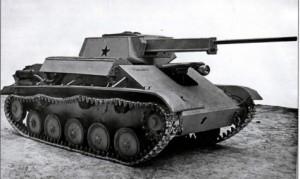 ЗСУ на шасси Т-70 с 37 мм пушкой