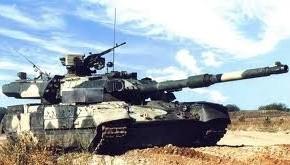 Т-95 на полигонных испытаниях