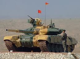 экспериментальный танк Т-95 на выставке в Нижнем тагиле (2011 год)