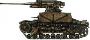 Самоходная зенитная пушка СУ-6