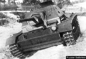 СУ-76И на испытательном полигоне 1943 год