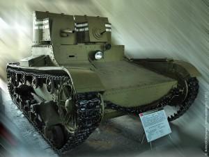 Т-26 с пушкой и пулемётом
