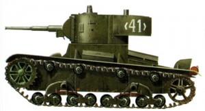 Лёгкий танк Т-26 образца 1939 года