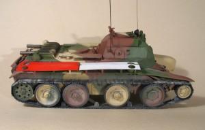 командирский танк КБТ 7