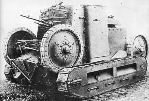 танкетка Т-25 на испытаниях