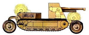схема танкетки Т-25