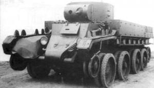 химический танк ХБТ 7