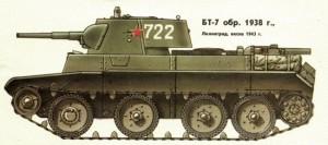 танк БТ 7