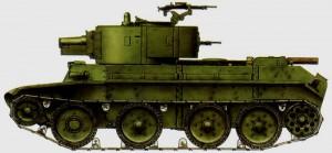 танк БТ 7А с 76 мм пушкой