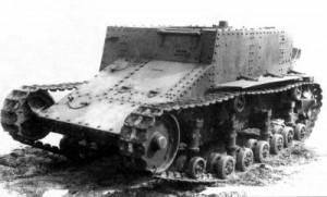танкетка Т-23