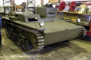 танк Т-33 в музее Кубинка