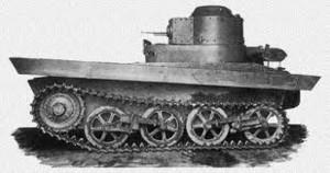 опытный образец танка Т-33