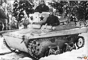 малый плавающий танк Т-37А