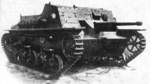 опытная лёгкая самоходная пушка СУ-37