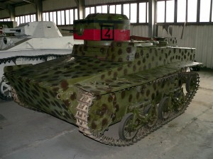 Малый плавающий танк Т-37А образца 1933 года