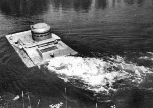 Т-37А на полигонных испытаниях
