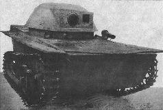 Танк П.Шитикова Т-37Б