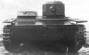 малый плавающий танк Т-38М