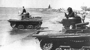танк Т-38 на учениях 1937 год