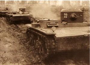 Танк Т-38М сентябрь 1941 года