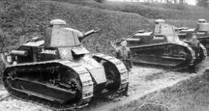 """танк """"Рено"""" фт-17"""