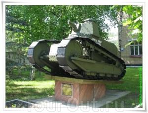 """Копия танка """"Рено-русский"""""""