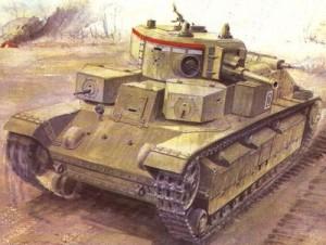 танк Т-28 образца 1935 года