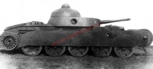 танк ТГ на заводских испытаниях