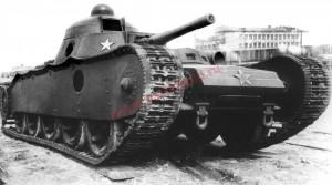 танк ТГ на параде