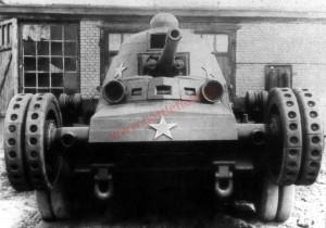 танк ТГ на колёсах