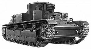 танк Т-28 образца 1934 года