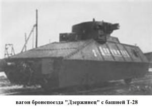 "броневагон бронепоезда ""Дзержинец"""