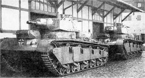 Немецкий экспериментальный танк Nb Fz