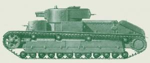 танк Т-28 образца 1934/38 года выпуска