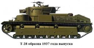 Т-28 образца 1937 года