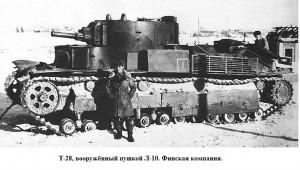 танк Т-28 с пушкой Л-10