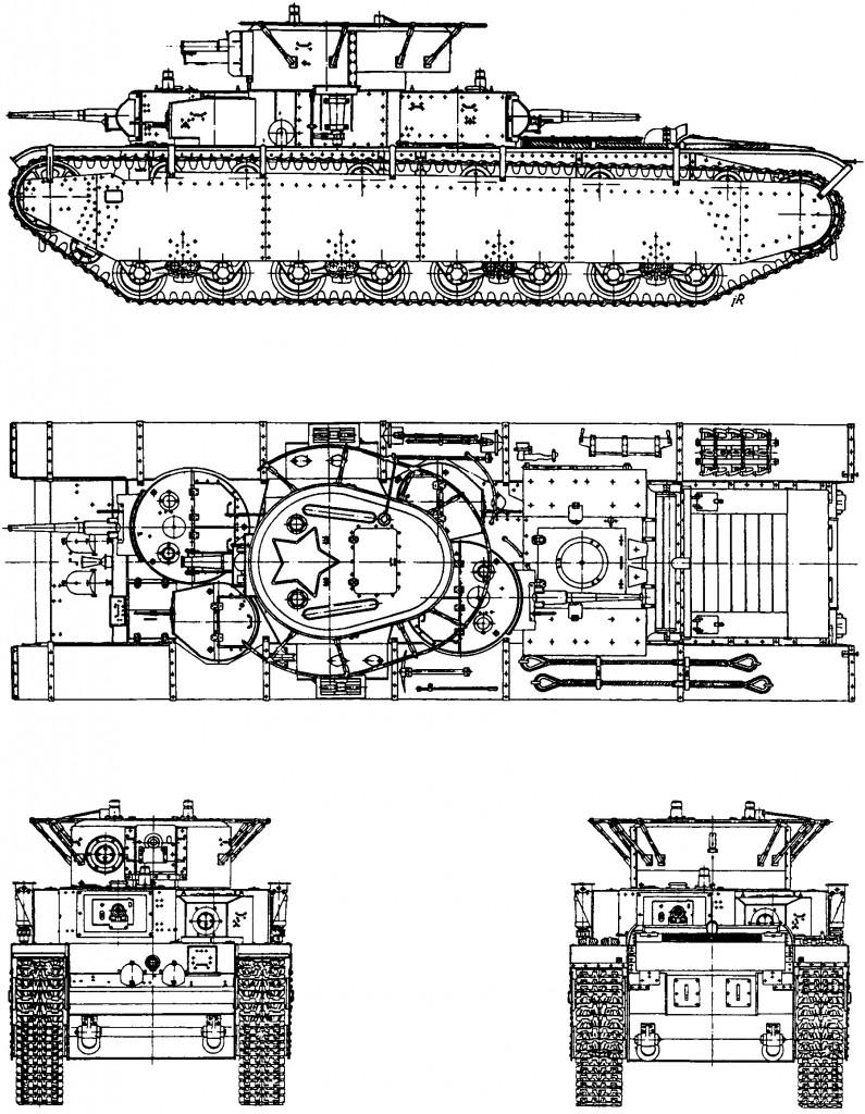 Т-35 образца 1935 года