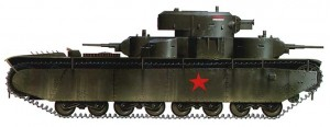 танк Т-35 вариант окраски